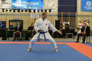 Złoto na międzynarodowym Grand Prix Karate dla Marcina Danka