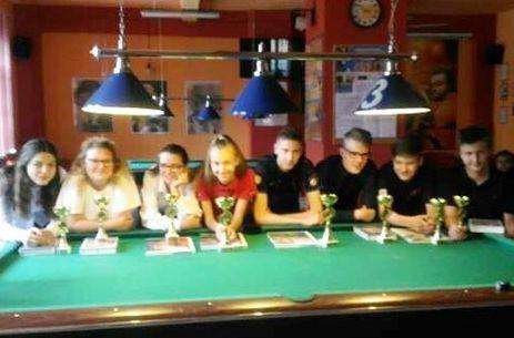 Sukcesy młodych Gostynian w Wielkopolskiej Młodzieżowej Lidze Bilardowej